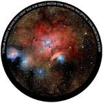 Omegon Wkładka do planetarium domowego Star Theater Pro z motywem mgławicy