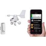 TFA WeatherHub Starter-Set with wireless wind meter