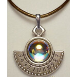 Ragalaxys Necklace Hypatia Sundial Iridescent