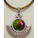 Ragalaxys Necklace Hypatia Sundial Galaxy