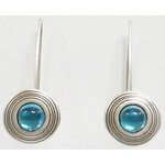 Ragalaxys Earrings Saturn Turquoise