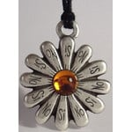 Ragalaxys Necklace Daisy Yes or No Topaz