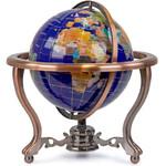 Pretty Decor Globe Indira 22cm blue