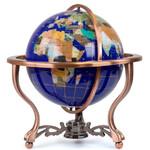 Pretty Decor Globe Indira 33cm blue
