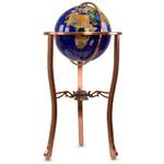 Pretty Decor Staande globe Montezuma 33cm blue