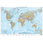 freytag & berndt Physische Weltkarte groß