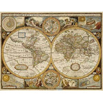 freytag & berndt Weltkarte Antik