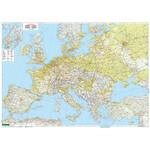 freytag & berndt Kontinent-Karte Europa physisch mit Metallleisten
