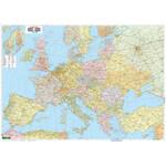 freytag & berndt Kontinent-Karte Europa politisch mit Metallleisten