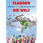 freytag & berndt Sticker Flaggen - Die Welt
