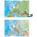 Stiefel Landkarte Schreibunterlage Europa politisch/physisch