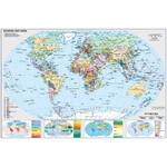 Stiefel Landkarte Schreibunterlage Deutschland und Europa in der Welt