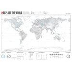 Marmota Maps Mappa del Mondo Explore the World XL