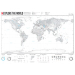 Marmota Maps Wereldkaart Explore the World XL