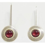 Ragalaxys Earrings Saturn red
