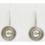 Ragalaxys Earrings Saturn iridiscent