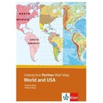 Klett-Perthes Verlag Software Interactive Wall Map: World & USA