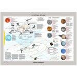 Libreria Geografica Poster Il Sistema Solare/ La Via Lattea