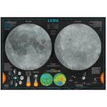 Libreria Geografica Poster Luna (Carta Astronomica)