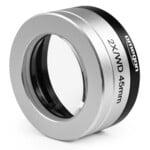 Objectif Omegon Mikroskop-Vorsatzlinse 2.0x mit Adapter
