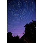 Oklop Poster Canvas Photo Star Trails