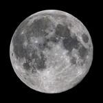 Oklop Poster Canvas Photo Full Moon