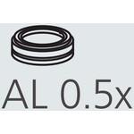 Nikon objetivo AL-305 Auxillary Objective 0,5x A.A. 181 mm