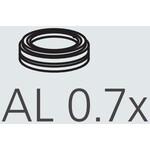 Nikon Obiettivo AL-307 Auxillary Objective 0,7x A.A. 127,5 mm
