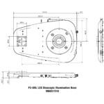 Nikon Colonna di sostegno P2-DBL LED Plain Base for transmitted light