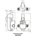 Nikon P2-FU manuell Focus Unit