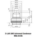 Nikon LWD Achromat Condenser A.A. 10 mm