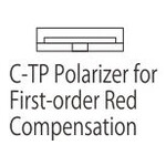 Nikon C-TP Polarizer for First-order Red Compensation