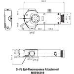 Nikon Ci-FL  Epi-fluorescence Attachment