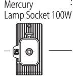 Nikon HG 100W Mercury-Lamp base