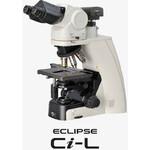 Nikon Microscop ECLIPSE Ci-L, Epi-FL 4, C-HGFI, Trino C-TT, 10x/22, w/o objectives, condensor, filter blocks