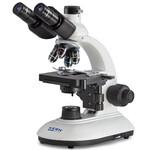 Kern Microscopio Trino Achromat 4/10/40, WF10x18, 3W LED, OBE 104