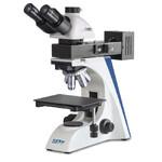 Kern Microscopio OKO 178, MET, POL, trino, Inf plan, 50x-1000x, Auf-/Duchlicht, HAL, 100W