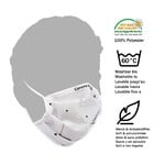 Masketo Mondmaskers, polyester, Corona Borealis, 5 stuk
