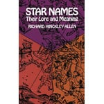 Dover Book Star Names: Their Lore and Meaning