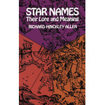 Dover Livro Star Names: Their Lore and Meaning