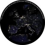 Omegon Dia für das Star Theater Pro mit Motiv Europa