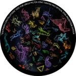Omegon Dia für das Star Theater Pro mit Motiv Südliche Sternbilder