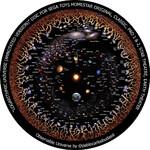 Redmark Dia für das Sega Homestar Planetarium Kosmologie