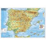 Stiefel Landkarte Spanien und Portugal