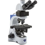Optika Microscopio Mikroskop B-383LD, trino, FL-LED, blue filter, N-PLAN, IOS, 40x-1000x