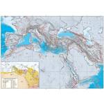 UKGE Regional-Karte Geodynamische Karte des Mittelmeers