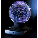 Boule avec socle à LED et pied en option