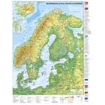 Stiefel Kaart Skandinavien und Baltikum