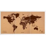 Miss Wood Woody Map Natural Cork XXXL brown