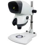 Vision Engineering Zoom-Stereomikroskop MANTIS Elite-Cam, MHDVF-TS, Säulenstativ, Auf-Durchlicht, LED, Kamera, 2MP, Vifox SW, o. Objektive